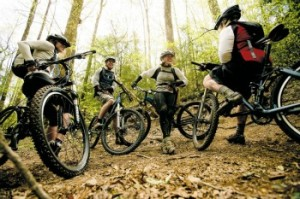 Mountain Bike Group Ride