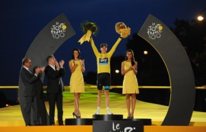 2013 TDF Winner Chris Froome
